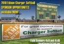 Edison Charger Softball Sponsor Program