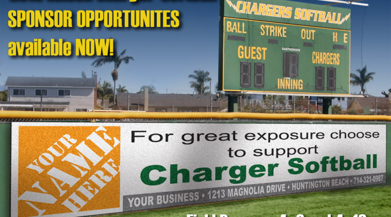 Edison Charger Softball Sponsor Program